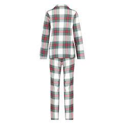 Pyjamaset Twill, Groen