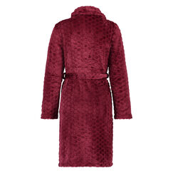 Badjas Fleece, Rood