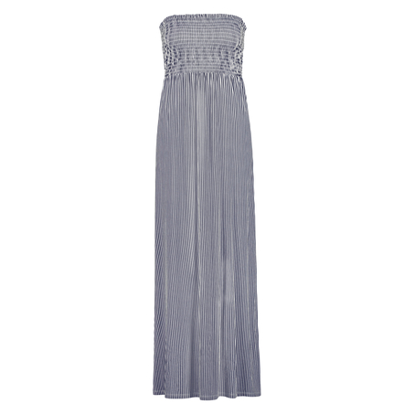 Tube jurk Jersey, Blauw