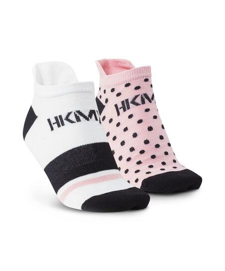 HKMX 2 paar sokken, Roze