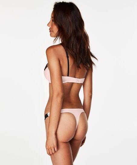 Voorgevormde beugel bh Secret lace, Roze