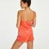 Shorts Velours Lace, Oranje