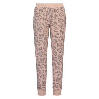 Fleece legging Teens, Roze
