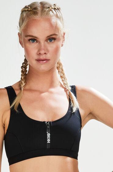 Hunkemöller HKMX Bikini Croptop Neo Zwart