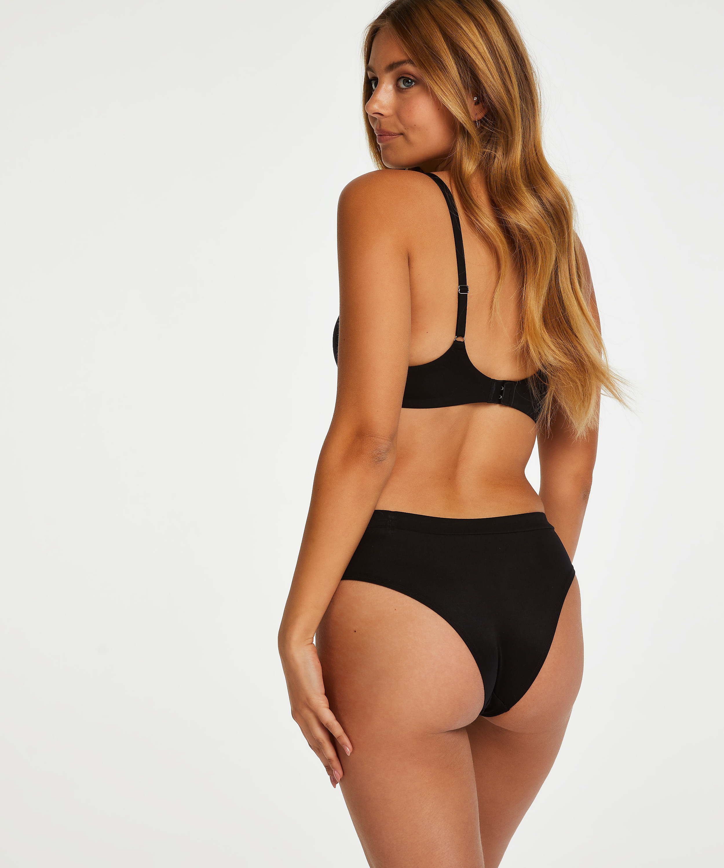 Brazilian short Soft, Zwart, main