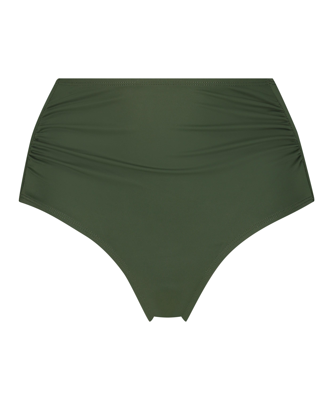 Hoog bikinibroekje Luxe, Groen, main