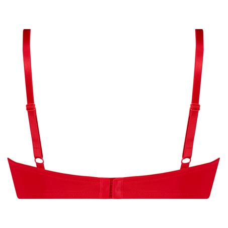 Voorgevormde beugel bh Plunge, Rood