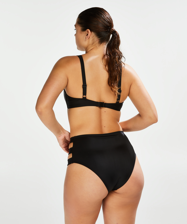 Niet-voorgevormde beugel bikinitop Sunset Dreams, Zwart, main