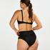 Niet-voorgevormde beugel bikinitop Sunset Dreams, Zwart