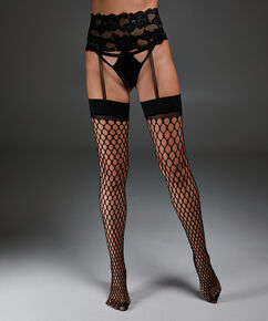 Private Jarretel Stockings, Zwart