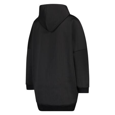 HKMX Oversized Jacket, Zwart