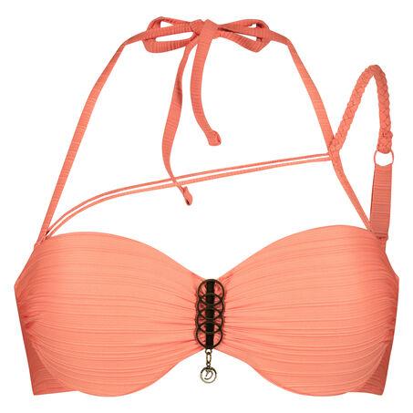 Voorgevormde push-up beugel bikinitop Desire Goddess Doutzen, Oranje