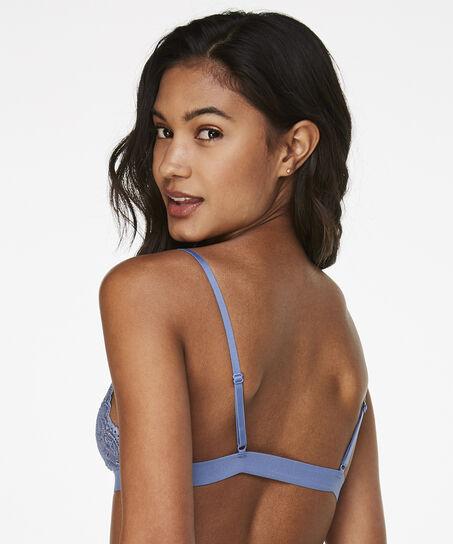 Bralette Rosie, Blauw