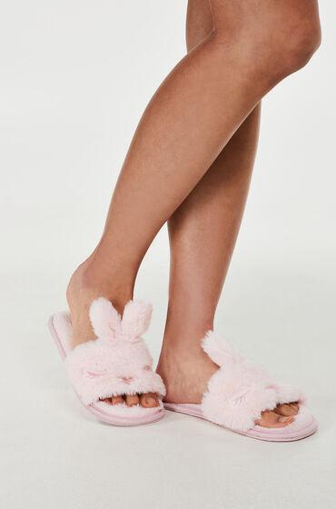 Hunkemöller Slipper Bunny Lady Roze