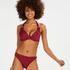 Voorgevormde beugel bikinitop Golden Rings, Rood