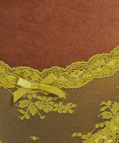 Brazilian V-shape mesh, Groen