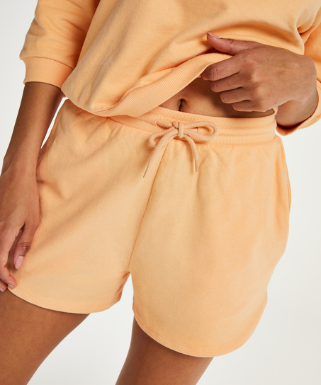 Shorts Sweat French, Oranje