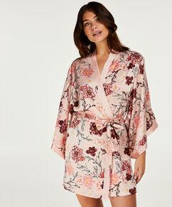 Kimono Satin Kiku, Roze