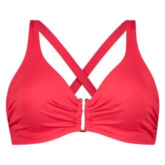 Niet-voorgevormde beugel bikinitop Sunset Dream, Rood