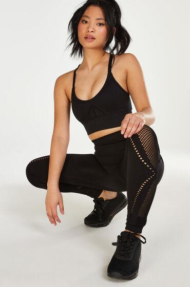 Hunkemoller HKMX High waist naadloze sportlegging Comfort Zwart