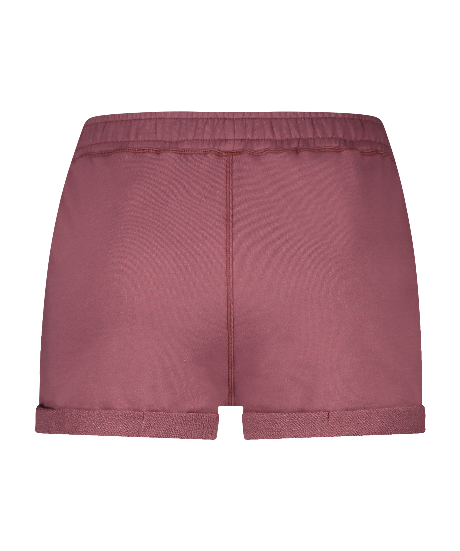Shorts Sweat French, Roze, main
