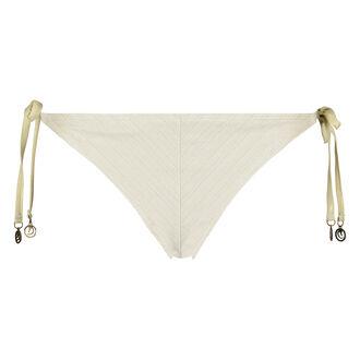 Cheeky tanga bikinibroekje Gold Stripe Doutzen, Geel