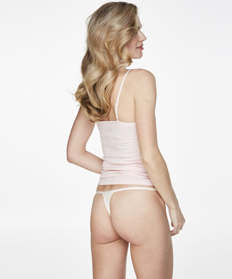 Tanga String Mrs. Bridal, Wit
