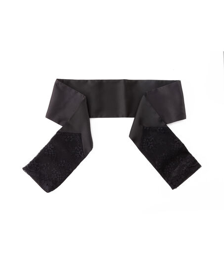 Lace Wrist Ties, Zwart