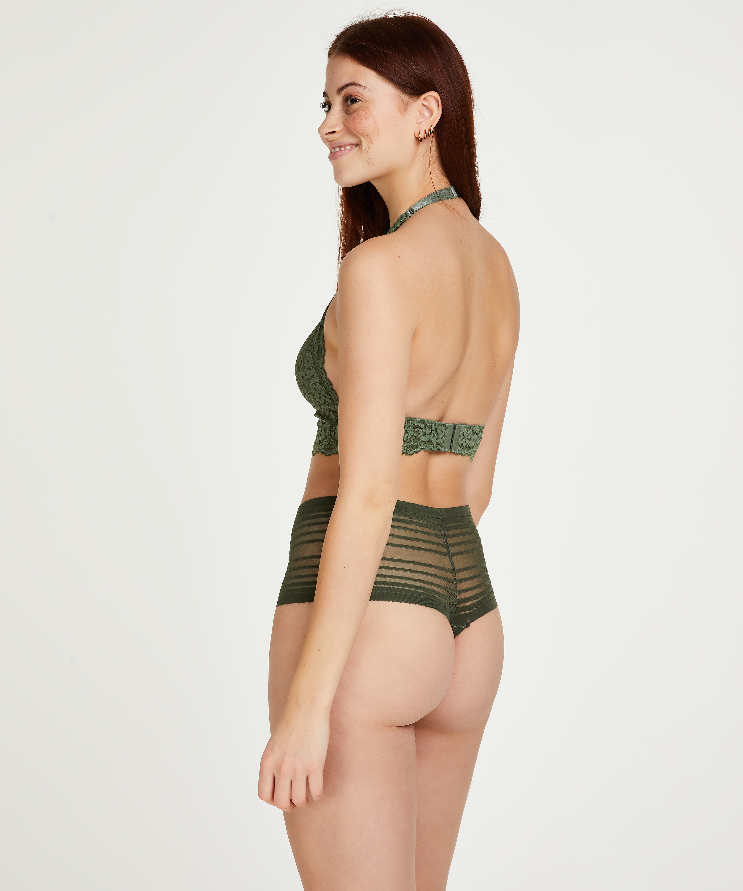Invisible hoge string, Groen, main