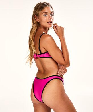 Hoog uitgesneden bikinibroekje Haze, Roze