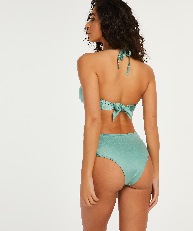 Hoog Brazilian bikinibroekje SoCal, Groen, main
