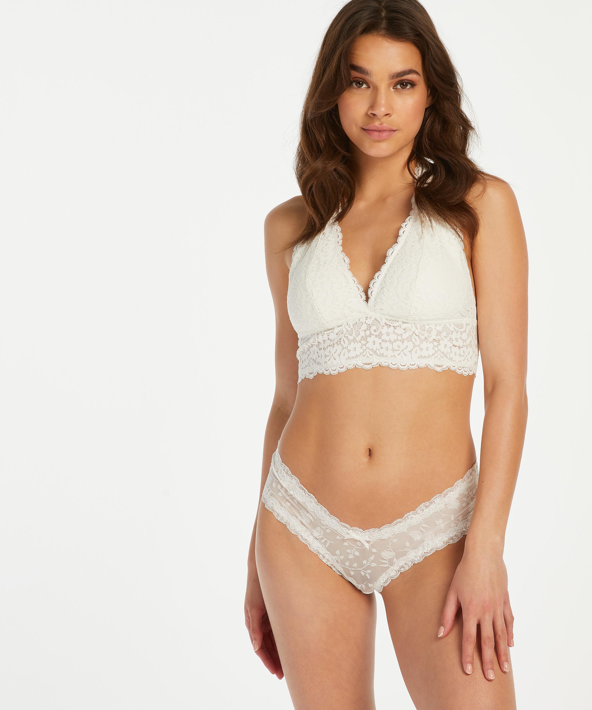 Brazilian V-shape mesh, Wit, main