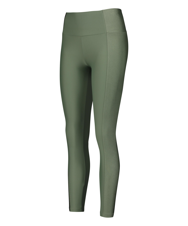 HKMX High waisted sport legging Shine On, Groen, main