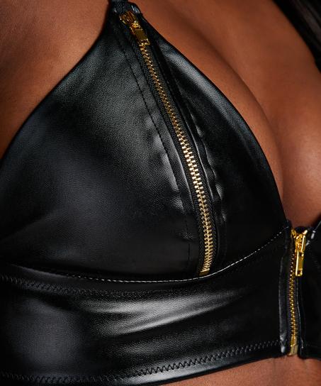 Bralette Matrix, Zwart