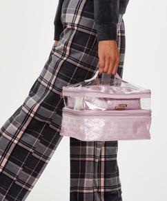 3-pack make up tas, Roze
