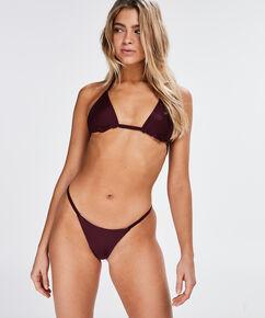 Reversible V-string bikinibroekje Purple Rain, Paars