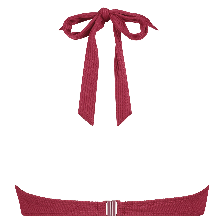 Voorgevormde beugel bikinitop Golden Rings, Rood, main