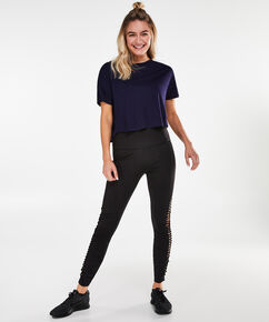 HKMX sportlegging Twist, Zwart