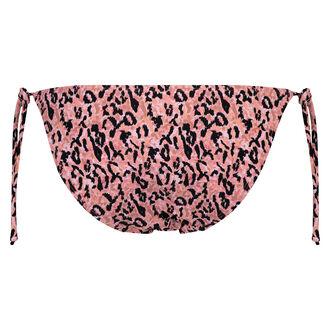 Tanga bikinibroekje Leopard Lady, Roze