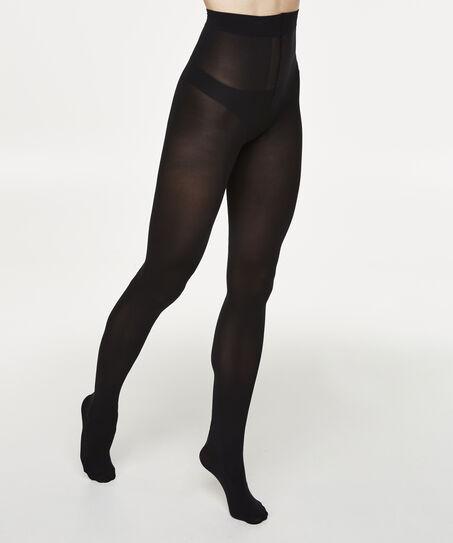 Panty 50 Denier Corsetry, Zwart