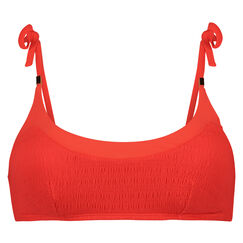 Bikini croptop Smockin Lily, Rood