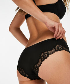 Slip Secret Lace, Zwart
