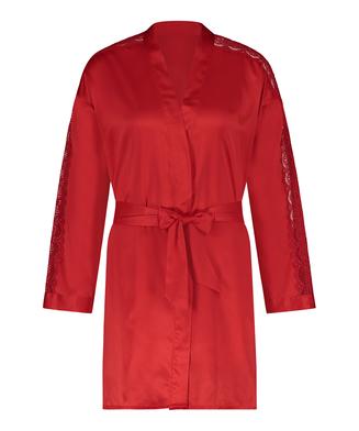 Kimono Satin, Rood