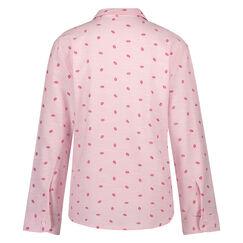 Pyjama jasje Chambray, Roze