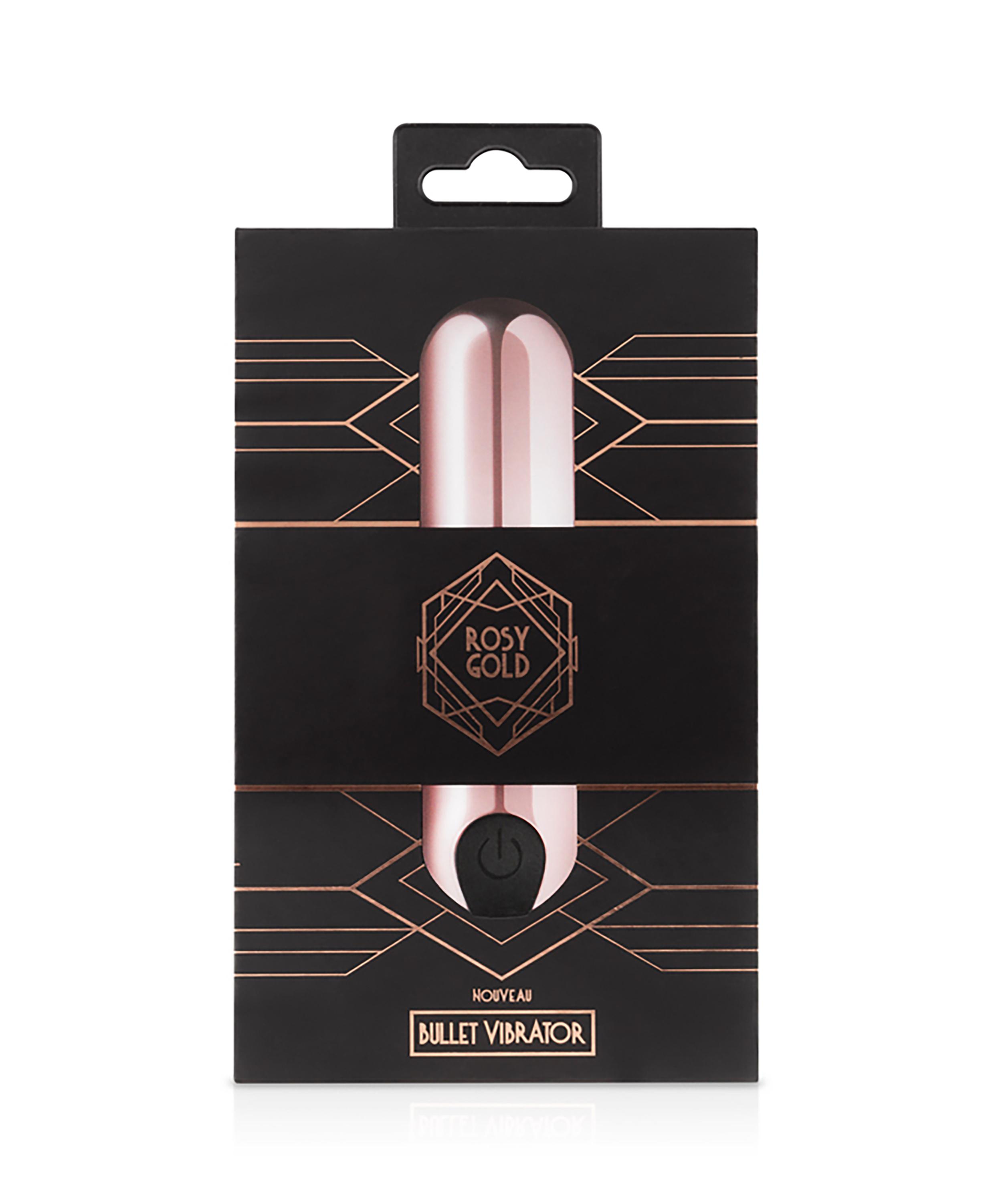 Rosy Gold Nouveau Bullet Vibrator, Roze, main