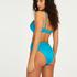 hoog uitgesneden bikinibroekje Celine, Blauw