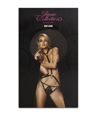Body Chain Private, Zwart