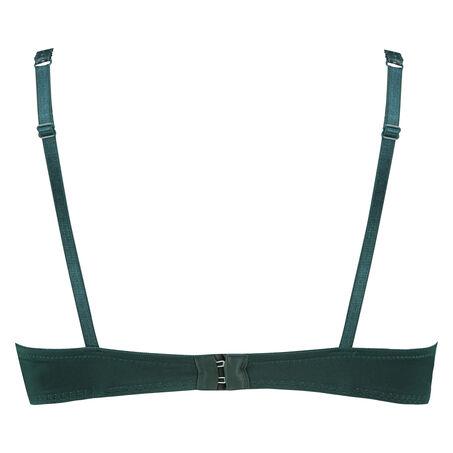 Voorgevormde push-up beugel bh Maya, Groen