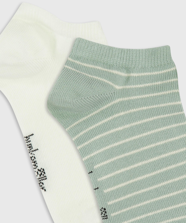 2 paar Sokken, Wit, main