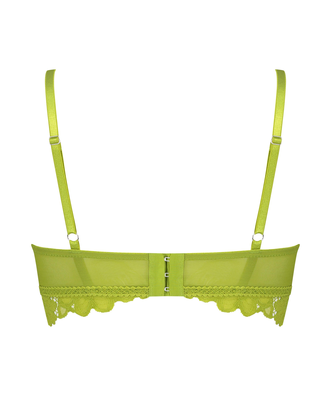 Voorgevormde longline bh zonder beugel Shiloh, Groen, main